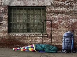 The homeless, immigrants, minorities and other marginalized populations are especially vulnerable.