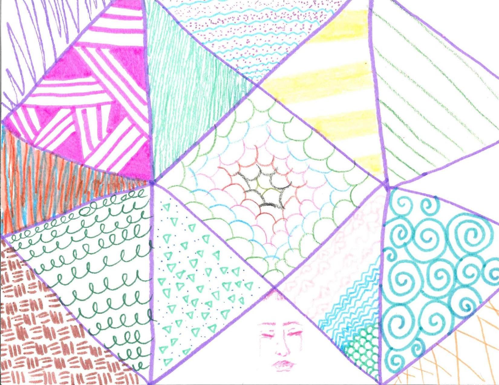 Geometric Girl