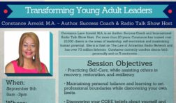FREE Young Adult Conference on September 9th