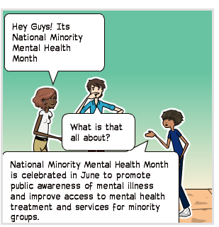 National Minority Mental Health Month