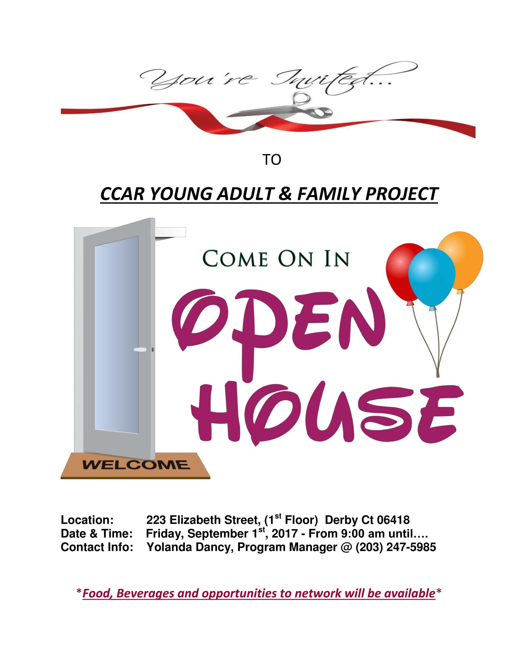 ccar yaf open house