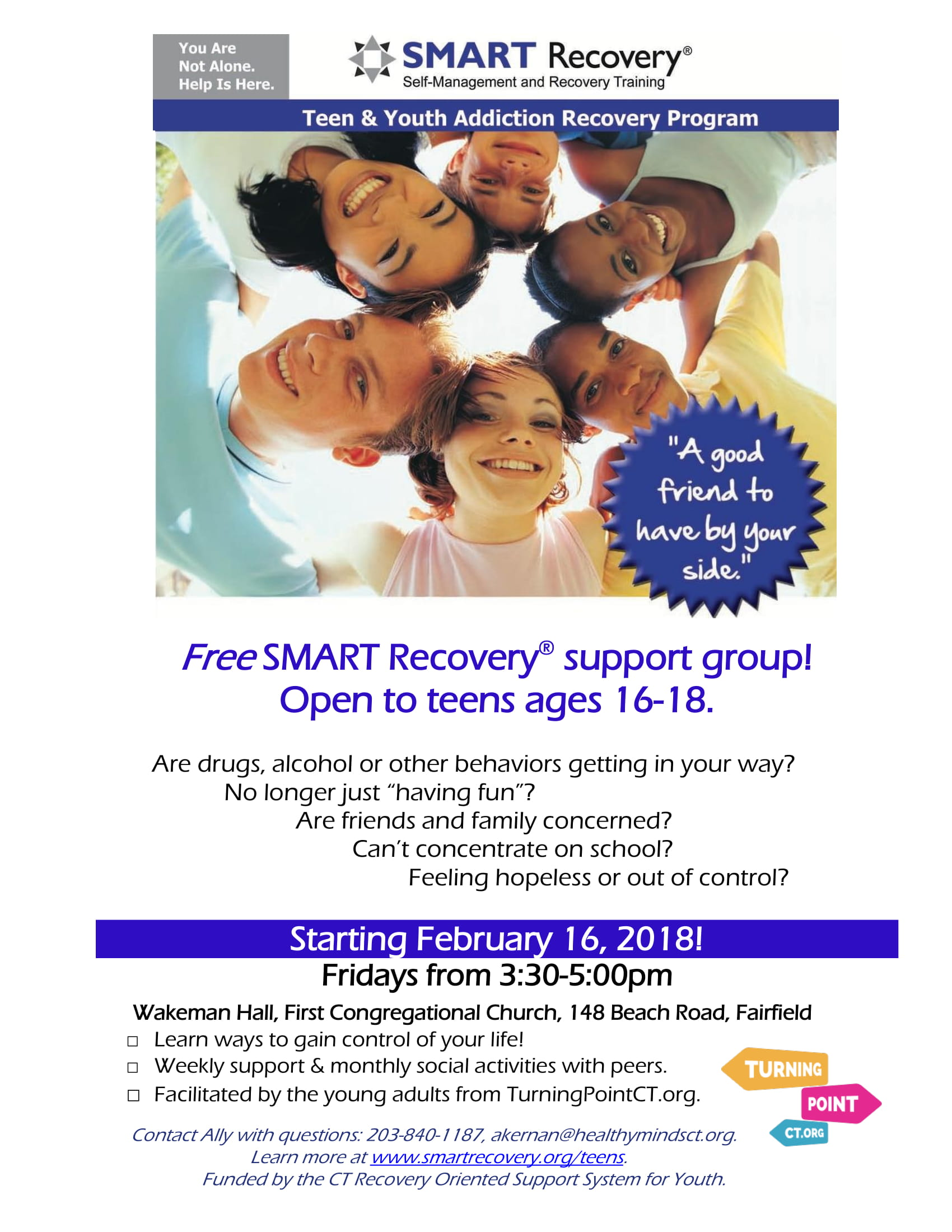 SMART recovery teen group