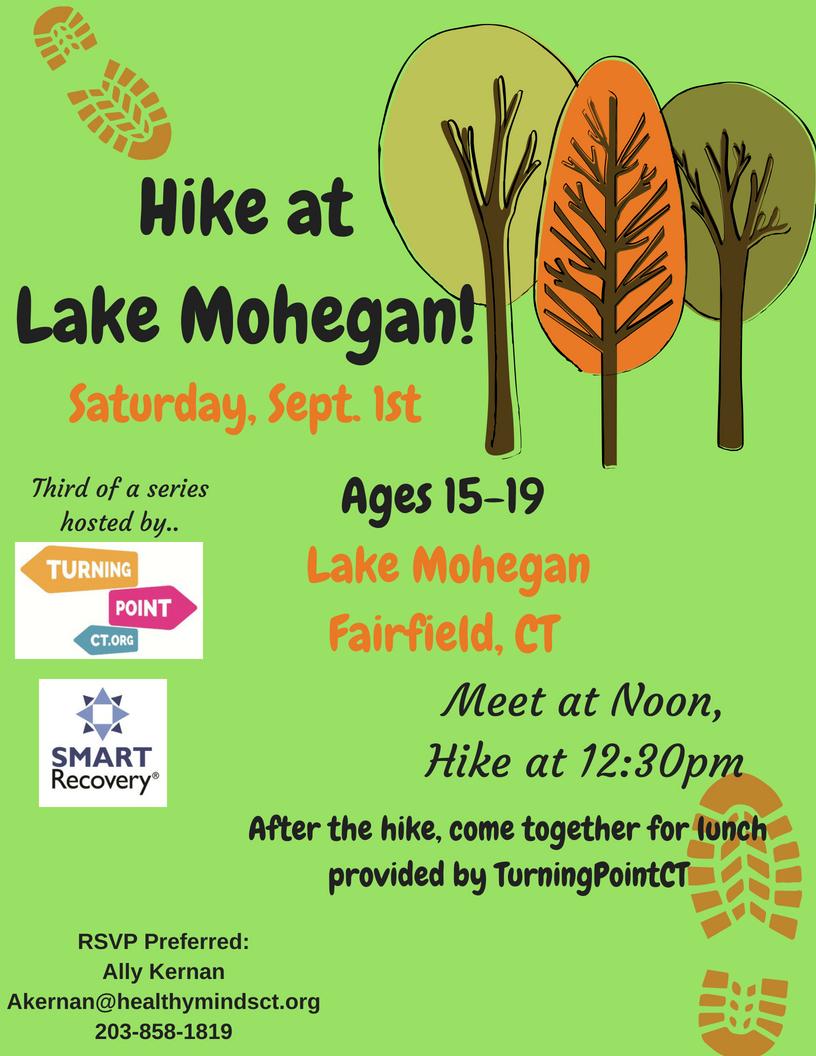 hike at lake mohegan
