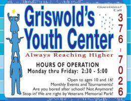 Griswold Community Youth Center