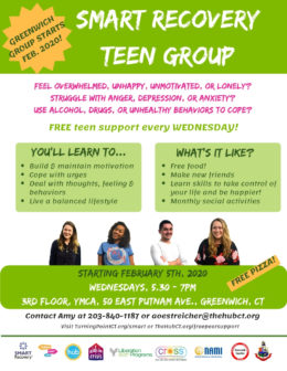 SMART Recovery Teen Group (Greenwich)