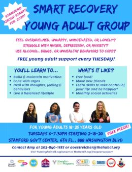 SMART Recovery Group for Young Adults (Stamford)