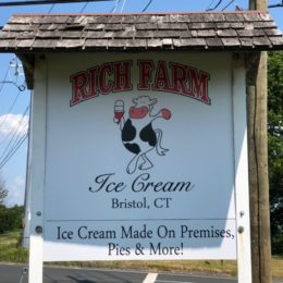Rich Farm Ice Cream Shop, Bristol
