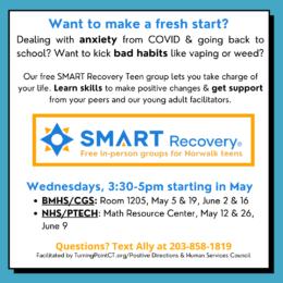 SMART Recovery Teen Group (Norwalk)